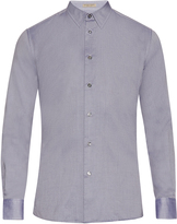 Bottega Veneta Button-cuff cotton oxford shirt