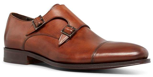 To Boot Men's Grant Double Leather Monkstrap Loafers