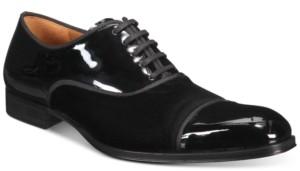 Mezlan Men's Patent Velvet Oxford Shoes Men's Shoes
