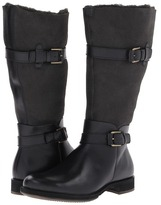 Ecco Saunter Double-Face Boot (Black/Moonless) - Footwear