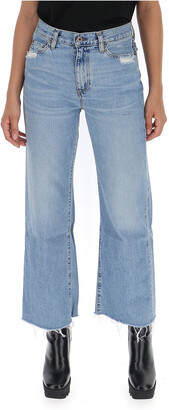 Simon Miller Wide Leg Denim Jeans