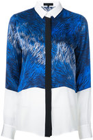 Barbara Bui concealed fastening printed shirt
