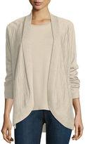 Eileen Fisher Fine Tencel® Alpaca Oval Cardigan, Plus Size