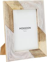 Monsoon Resin & Wood Mix Photo Frame