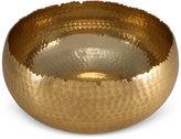 Thirstystone Old Hollywood Medium Hammered Gold-Tone Bowl