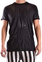 Barbara I Gongini Men's Black Cotton T-shirt.