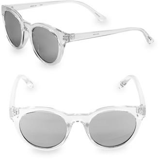 Junia Kid's Fizz Translucent Round Sunglasses