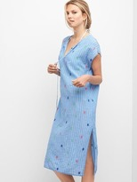 Gap Embroidery stripe caftan