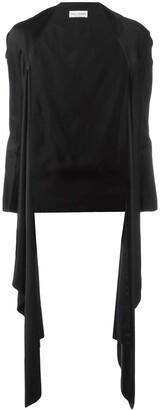 Dolce & Gabbana Pre Owned Draped Kimono Jacket