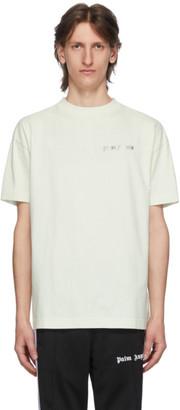Palm Angels Green New Basic T-Shirt