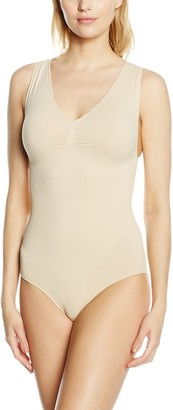Belly Cloud bellycloud Women's V-Body mit Raffung Bodysuit