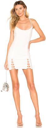 superdown Savannah Lace Up Dress