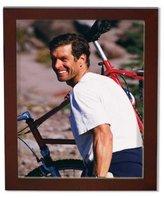 Lawrence Frames Standard Wood Luxury Frame, 3.5 by 5-Inch, Walnut