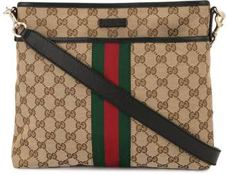 Gucci Pre-Owned GG Shelly Line GG Supreme shoulder bag