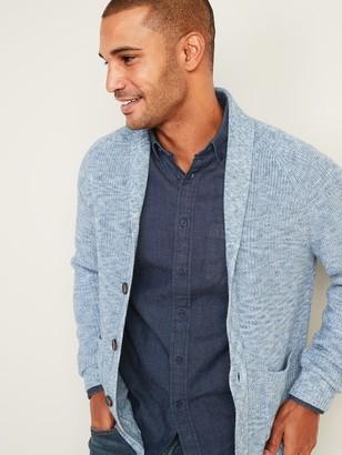 Old Navy Textured Shawl-Collar Cardigan for Men