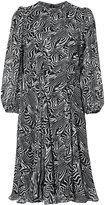 Derek Lam Long Sleeve Peplum Dress