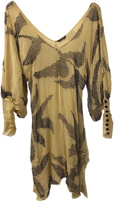 Sass & Bide Beige Silk Dresses