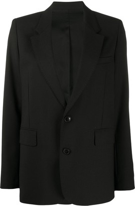 Ami Single-Breasted Tailored Blazer