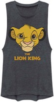 Simba Licensed Character Juniors' Lion King Young Face Muscle Shirt
