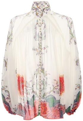Zimmermann The Lovestruck Cotton Voile Shirt