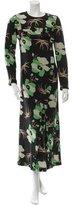 Marni PF 2016 Lakota Silk Floral Dress