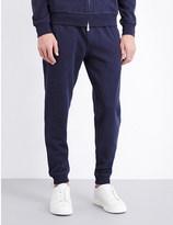 Brunello Cucinelli Tapered cotton-blend jogging bottoms