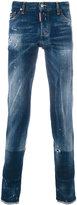 DSQUARED2 distressed regular jeans - men - Cotton/Polyester/Spandex/Elastane - 46