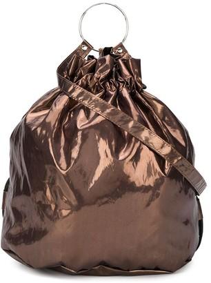 MM6 MAISON MARGIELA ring handle bucket bag