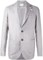 Oliver Spencer Theobald blazer - men - Linen/Flax/Polyester/Acetate - 38