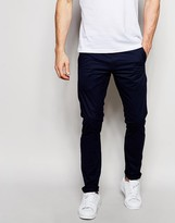 G-star Chinos Bronson Slim Fit Stretch Twill In Saru Blue