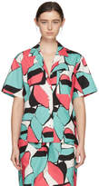 Marc Jacobs Pink Abstract Shirt