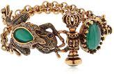 Alcozer & J Desire Frog & Crown Bracelet