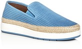 Donald J Pliner Maite Perforated Espadrille Slip-On Sneakers