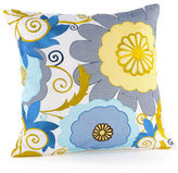 Trina Turk Trellis Flower Garden Decorative Pillow
