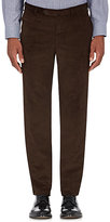 Isaia Men's Cortina Corduroy Trousers-BROWN