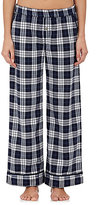 Skin Women's Pima Cotton Plaid Pajama Pants