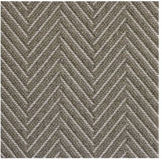 Pottery Barn Fibreworks Custom Textured Chevron Wool Rug - Silver