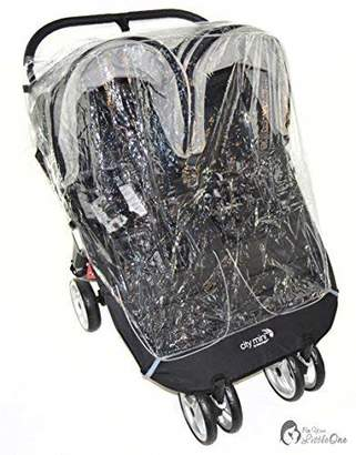Britax Raincover Compatible with B-Agile Twin Double Pushchair (213)