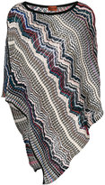 Missoni embroidered pull-over poncho