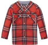 Tommy Hilfiger Th Kids Plaid Mini Shirt