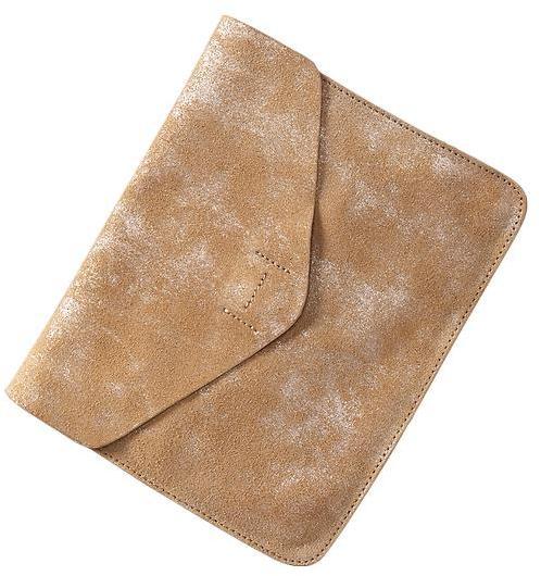Gap Leather envelope clutch