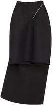 Rick Owens Draped Crepe Skirt