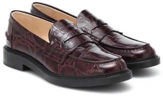 Tod's Spiga leather loafers