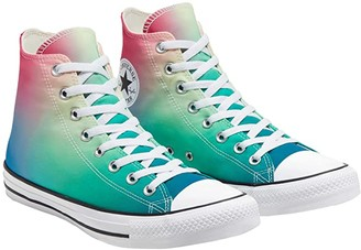 Converse Chuck Taylor All Star Ombre Wash - Hi (White/Game Royal/Cerise Pink) Lace up casual Shoes
