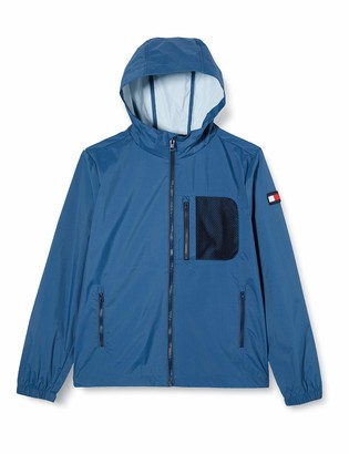 Tommy Hilfiger Boy's Combi MESH Hooded Jacket