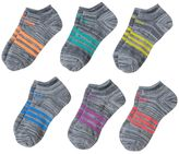 adidas Girls 4-16 6-pk. climalite Space-Dyed No-Show Socks