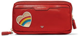 Anya Hindmarch Small appliqu&eacuted shell cosmetics case