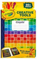 Crayola Creative Tools Book-Style Art Kit