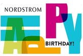 Nordstrom Happy Birthday Greeting Card & Gift Card $1000