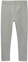 Tea Collection Tringulo Fleece Leggings (Baby Girls)